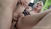 Rough anal orgy with DP for Bree Haze