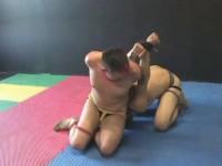 Two amateur tweink cole james and king bondage on the floor punish!