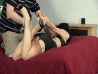 Girdle Bound, Gagged, and Distressed (online, girl, english, punish)