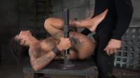 AVN winner Bonnie Rotten shackled in strict device bondage