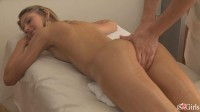 Anjelica Gets Oiled Up For A Thick Dick