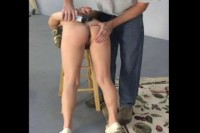 Layne Buttplugged and Belted