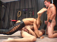 Dirty Barebacking With Muscle Males
