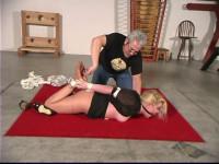 Whitney Tickling Hogtie