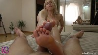 Horny Girlfriend Hard Fuck And Footjob