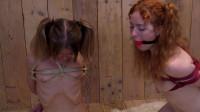 Polina and Nedda - box tie desperation