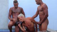 hb — Verao Hotboys 1 (Chris Negao, Jhon Alvez & Nego Brown) Bareback