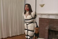 Bride Bound and Gagged