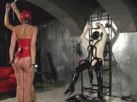 Mistress Jean meets Mistress Sandra in Vienna.