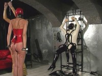 Latex Dominatrix - video, dominatrix, vid, english