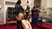 Mistress Ezada Sinn, Madame Caramel & Governess Painless — Ass Worshipper Inverview