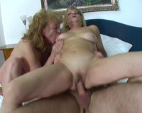 Download Grannies share cock