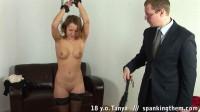 Spanking - Tanya 18 y.o (2013)