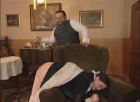 RussianSpanking -  Maid Hard Treated