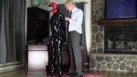 Tight bondage, domination and torment for sexy slave model