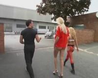 Slavegirls in public