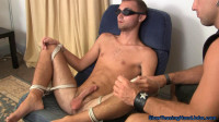 Joey Blindfolded and Edged