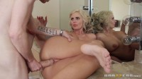 A Guy Spends The Day With Busty Blonde Milf (bus, licks, lady, blows)