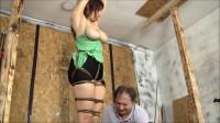 Sexy Milf Stephanie Mars Gets A Brutal Hogtie
