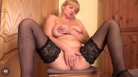 Blonde mature Cougar Alyona