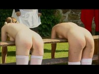 spanking scenes dark - (Lupus - A Garden Party)