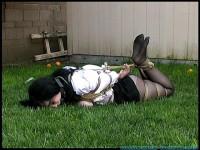 FS – Backyard Bondage Fun with Sybil – Part 2