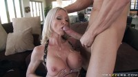 Busty Blonde Lady Has To Plan His Party