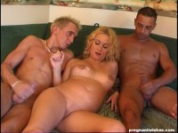 3 Guys with one pregnant girl
