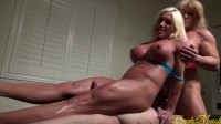 Ashlee Chambers and Wild Kat — It's A Threesome. With A Twosome In Charge