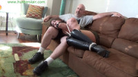 Hunterslair - Constance - A quiet night home with his bitchy girl friend