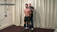 Thomas - Ball Gagged, Groped - Giant Dick Wanked