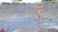 Tatjana - My new beach outfit