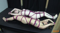 Penny and Dolly Bondage Orgasms