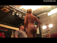 Young-femdom - You damaged my Car!