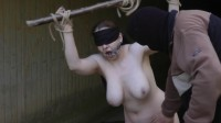 Spanking for Slave girl on outdoor