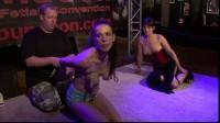 BreastsInPain - Slave Eva Yvette is hanging at my Breasts 001