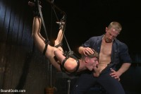 Helpless boy beaten into submission and made to swallow cum