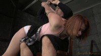 SexuallyBroken - Dec 31, 2014 - Pale Claire Robbins tightly tied and trained...