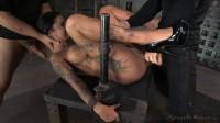 winner Bonnie Rotten shackled in strict device bondage