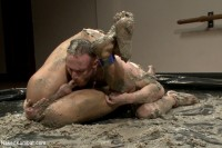 Top Cock: Mud Wrestling!