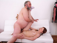 Download Miriam has little, pert tits and she loves getting them sucked by this old dude