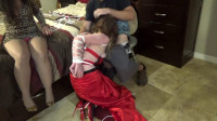 Prom girl made to suck cock by his deranged momma