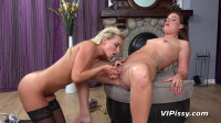 Vany Ully and Victoria Pure Pissing and Sex Toys (2018)