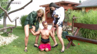 Outdoor Fisting Threesome