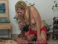 Extreme Scatting Blonde Filesmonster Scat
