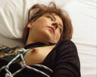 Bondage sex witness