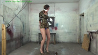 Download HunterSlair - Ren Smolder - Leggy captive stretched out at the post