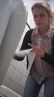 Hidden camera in the student toilet Part 8(2018)