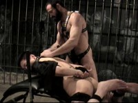 Bondage Inspection (cock sucking, master, media).