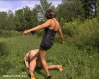 Ballbustingchicks — Natasha — Brutal Ball Kicking — pt1